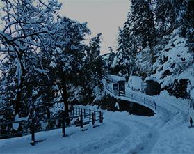 Mussoorie Snow